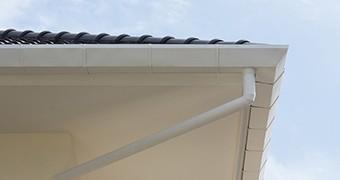 雨樋は屋根の各面にあり、重要な部分です