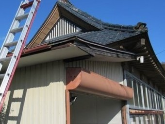 修理前の屋根