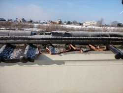 塀屋根施工前