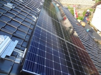 太陽光パネル取付