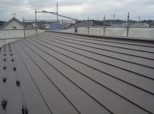 板金屋根葺き替え工事完了