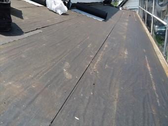 板金屋根解体完了