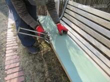カラーガルバリウム鋼板加工