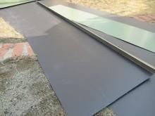 カラーGL鋼板で屋根材作成
