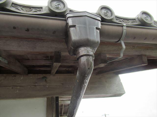 集水器から水漏れ