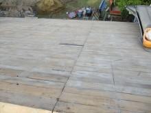 野地板補修、清掃完了