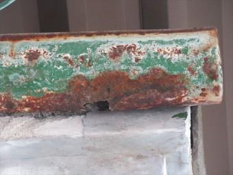 軒樋穴さび