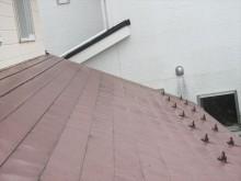 はいどいがなくなった西側の屋根