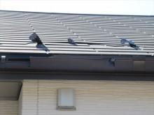台風屋根破損