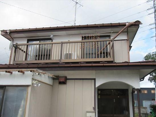 雨樋が台風19号で被災したお宅