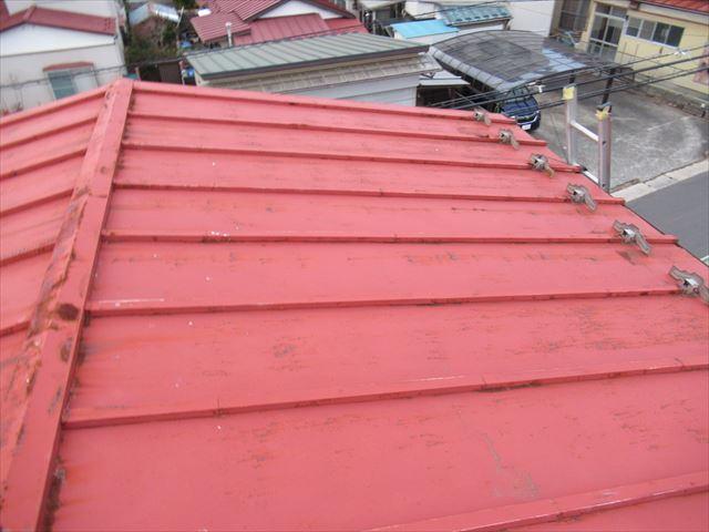 築47年のトタン屋根