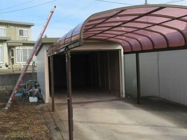 ガレージ(車庫)雨漏り現調