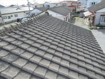 屋根の上の雨漏り調査